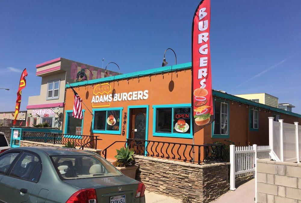 Adam's Burgers Oceano